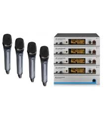 Sennheiser EM-500 4 Way Wireless Microphone System Image