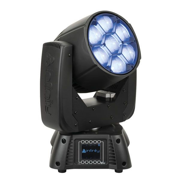 Infinity iW741 RDM LED Zoom Wash Moving Fixture with W-DMX (4 Units) Image